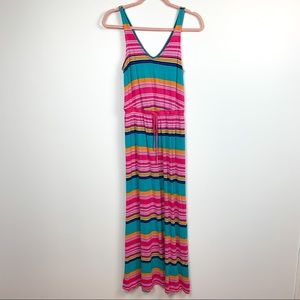 🌼2/$22🌼 Colorful Striped Old Navy Maxi Dress